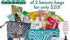 Great Deal: Get Huge Beauty Bags at Whole Foods for $20 ($120+ Value Each) - on 3/13!
