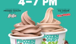 FREE 5oz Frozen Yogurt at Yogurtland on February 6th