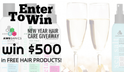 Win 1 of 3 Aweganics $500 Hair Care Bundles - ends 3/19