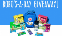 Win 1 of 30 Bobo's Snacks Filled Backpacks ($250 Value Each) - Daily Winners - ends 3/30