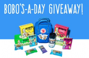 Win 1 of 30 Bobo's Snacks Filled Backpacks ($250 Value Each) - Daily Winners - ends 3/30