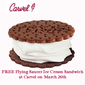 FREE Carvel Ice Cream