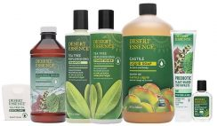 Win 1 of 3 Desert Essence Green Your Spring 7 Piece Tea-Tree Self-Care Bundles - ends 3/30