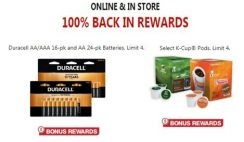 FREE Duracell Batteries and K-Cup Coffee Pods at Office Depot/Office Max - ends 5/30