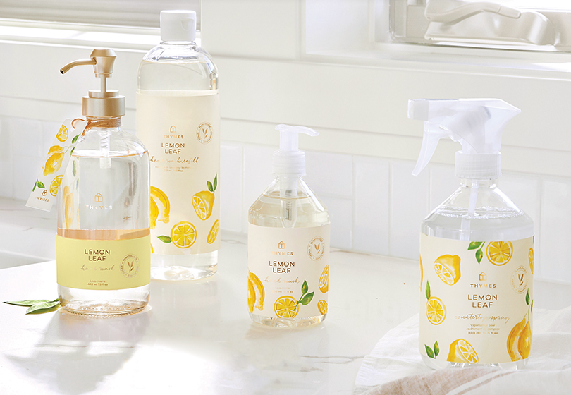 Win a Thymes Lemon Leaf Collection or 1 of 25 Hard Working Hand Creams - ends 3/15