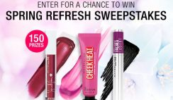 Win 1 of 150 Maybelline Spring Refresh Makeup Bundles - ends 4/15