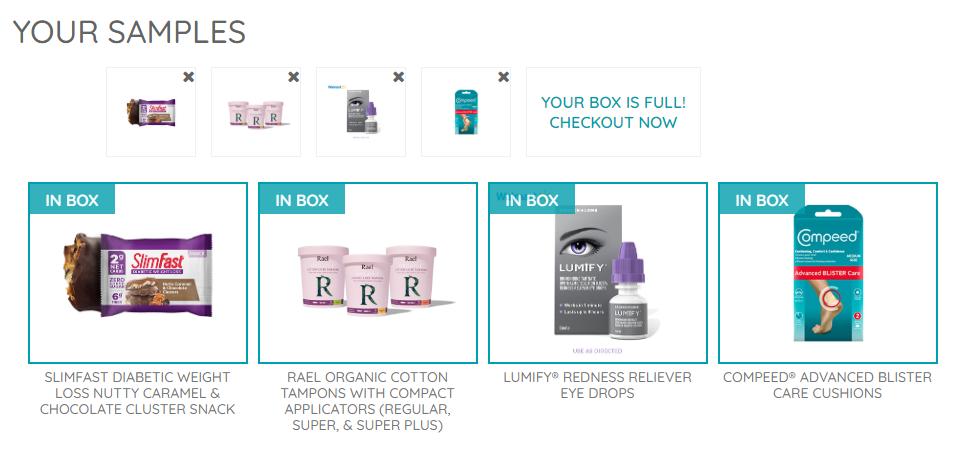 FREE PINCHMe Sample Box - Today!