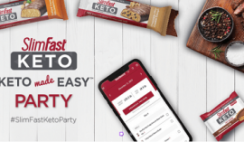 FREE SlimFast Keto Made Easy Party Kit