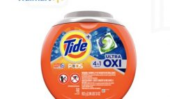 FREE Tide PODs OXI at Walmart - exp 3/26