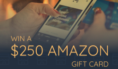 Win a $250 Amazon Gift Card - ends 5/3