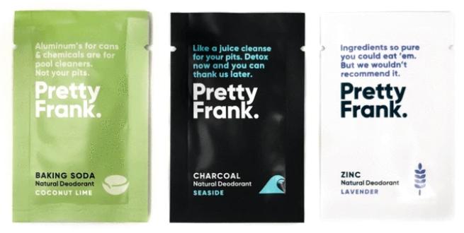 pretty frank free deodorant