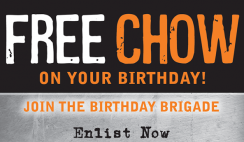 Free Mission BBQ Birthday Sandwich 2020