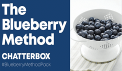 FREE Blueberries from Chatterbox