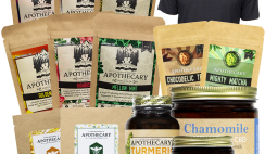 Win The Brothers Apothecary Giveaway - With Teas, Honey, Shirt, Mug, Bath Soak, Skin Care, Self-Care & More! - $300 Value - ends 4/10