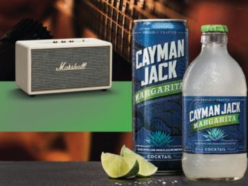 Win 1 of 98 Marshall Wireless Speakers From Cayman Jack Margaritas - ($250 Value Each) - Enter Daily - ends 6/1