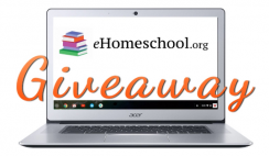 Win a Free Chromebook Laptop From eHomeschool - ends 4/18