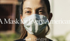 FREE Face Mask From Dhvani