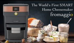 Win The World's First Smart Home Cheesemaker by Fromaggio - ends 4/26