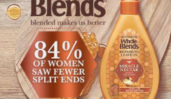 FREE Garnier Whole Blends Miracle Nectar Leave-In Hair Treatment