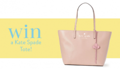 Win a $500 Kate Spade Tote Bag - ends 4/30