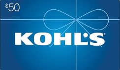 Win 1 of 10 $50 Kohl's Gift Cards - ends 4/7
