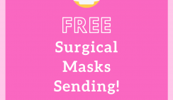 10 FREE Surgical Masks from Styleword
