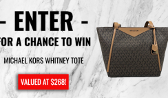 Win a Free Michael Kors Whitney Tote Bag From Jax & Henley ($268 Value) - ends 4/12