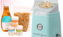 Win a Free Nostalgia Classic Retro Hot Air Popper & Popcorn Kit - ends 4/17 @ 12pm CST