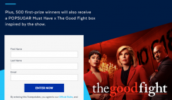 Win $5,000 Cash or 1 of 500 PopSugar Boxes from PopSugar Must Have & The Good Fight ($122 Value Each) - ends 4/29