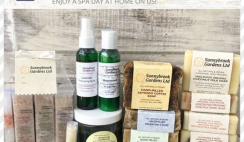 Win a Sunnybrook Gardens Soaps & Skincare Stay at Home Spa Day Giveaway - ends 5/1
