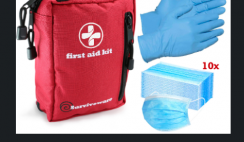 Win 1 of 20 First Aid Kits Including 10 Sets of Gloves & Masks From Surviveware - ends 4/30