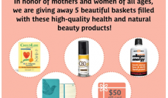 Win 1 of 5 Better Nutrition Beauty & Wellness Baskets with $50 Gift Card, CBD Oil, Journal, Beauty Products, Supplements & More - ends 5/31