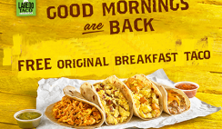 FREE Breakfast Taco at Stripes Stores - ends 5/19