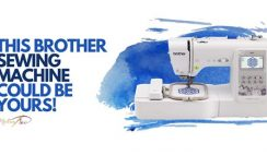 Win a Brother Sewing Machine from MadamSew - ends 6/15