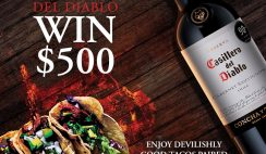 Win $500 Cash or 1 of 30 Weekly Prize Gift Sets from Casillero del Diablo Wines - ends 6/30