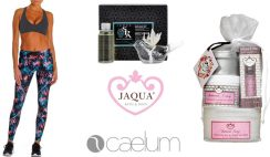 Win a Stay at Home Self Care Essentials Giveaway - with Caelum Yoga Ensemble & Jaqua Buttercream Frosting Bath & Body Gift Set & Home Fragrance Diffuser - ($351 Value) - ends 5/17