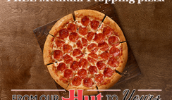 FREE Medium 1 Topping Pizza at Pizza Hut - LIVE Again 5/26 @ 1AM EST