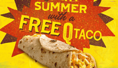 FREE Q Taco at Laredo Taco in Stripes Stores