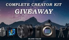 Win a Sony Complete Content Creator Kit ($5,000 Value) - ends 6/1