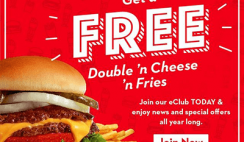 FREE Steak 'n Shake Double 'n Cheese 'n Fries AND a FREE Specialty Milkshake on Your Birthday!