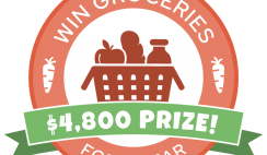 Win Free Groceries for a Year worth $4,800 - ends 7/9