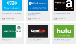 FREE Gift Cards From Bing Rewards: Amazon, Starbucks, Sephora, Dunkin Donuts, Target & More!