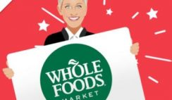 Win a $500 Whole Foods Gift Card from Ellen - ends 6/20