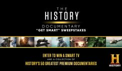 Win a New TV and Cash from the History Channel - ends 7/12