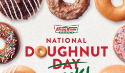 FREE Krispy Kreme Doughnut of Your Choice Each Day June 1-5