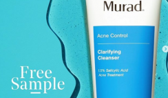 FREE Murad Clarifying Cleanser Acne Control Skincare Sample