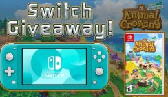 Win a Nintendo Switch and Animal Crossing Giveaway - ends 7/31