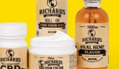 Win 1 of 10,000 Richard's Hemp Health CBD Oil & Care Bundle - ends 6/14