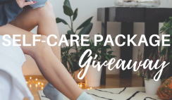 Win an Ultimate Self-Care Package (there are 3 prizes!) - ends 6/30