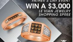 Win a $3,000 Jewelry Shopping Spree from La Vien - ends 6/21